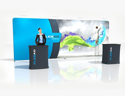 6m Expo Package with Podium counters