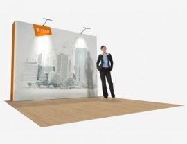 4x3 SEG pop up wall - Silicon Edge Graphic
