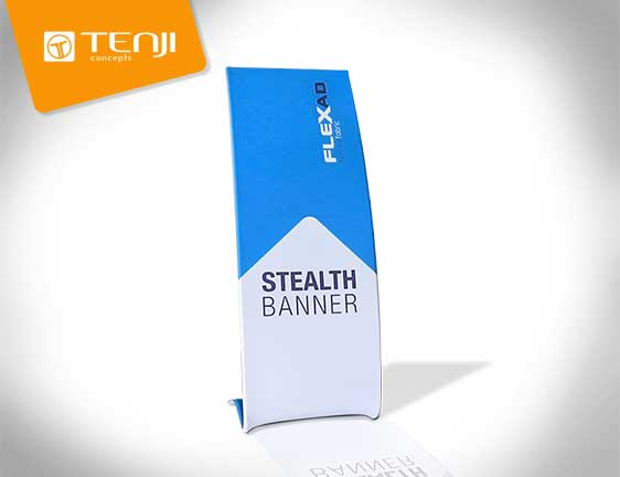 Tenji Stealth Trade Show Booth Banner