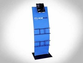 Steel Base Ipad Brochure Holder Stand