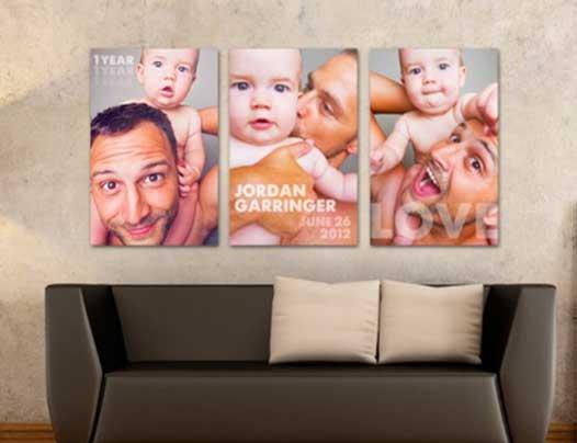 Canvas wall prints custom size - Tenji Concepts