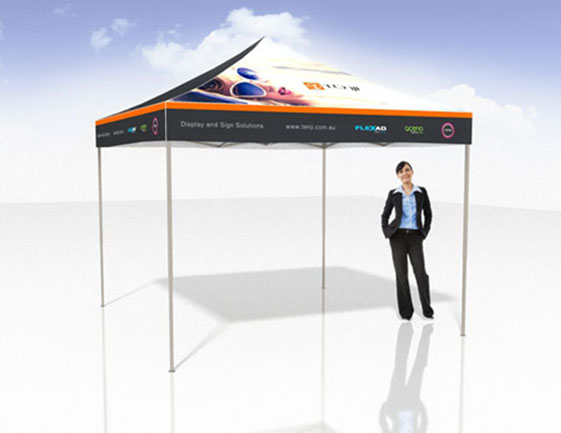 3x3 Pop Up Marquee