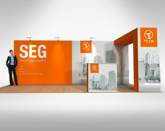 6m x 3m Pop up package deal no1