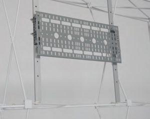 External TV monitor bracket